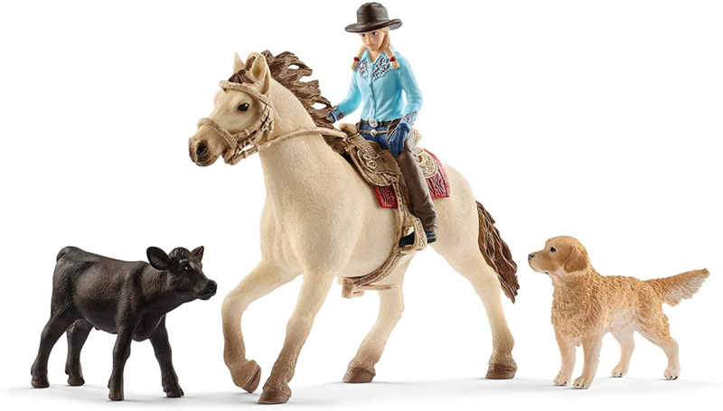 Western riding set Schleich 42419