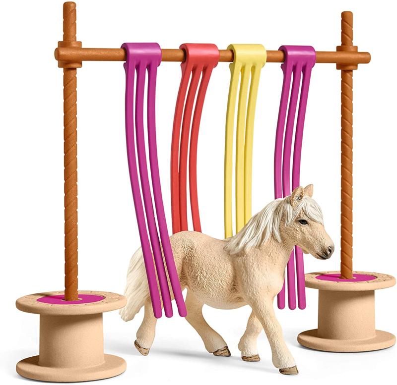 Pony obstakel gordijn Schleich 42484