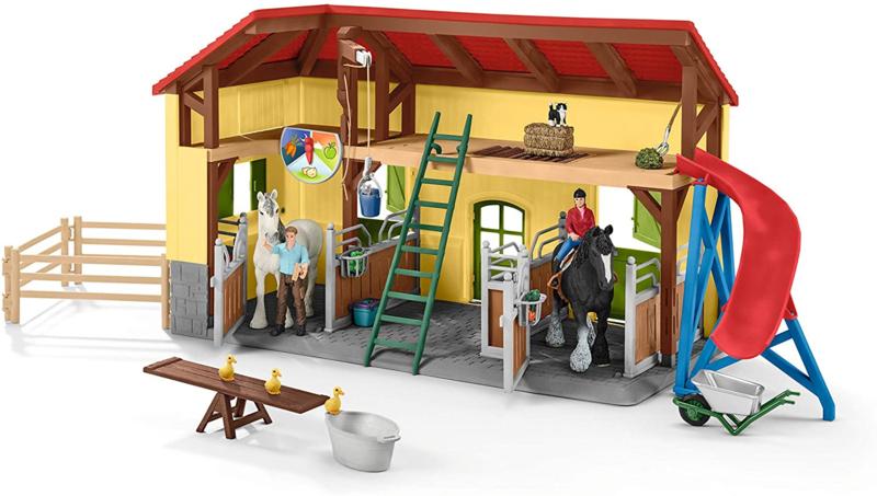 Paardenstal Schleich 42485