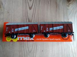 Primex/Marklin 4596 Gesloten goederenwagons van de DB.  NIEUW