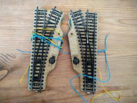 Marklin Wisselpaar Electrisch