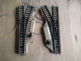 Marklin 5117  Set Electrische Wissels met grote lantaarn