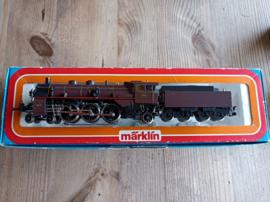 Marklin 3111 H0 Stoomlocomotief met tender Serie 59 NMBS/SNCB NIEUW