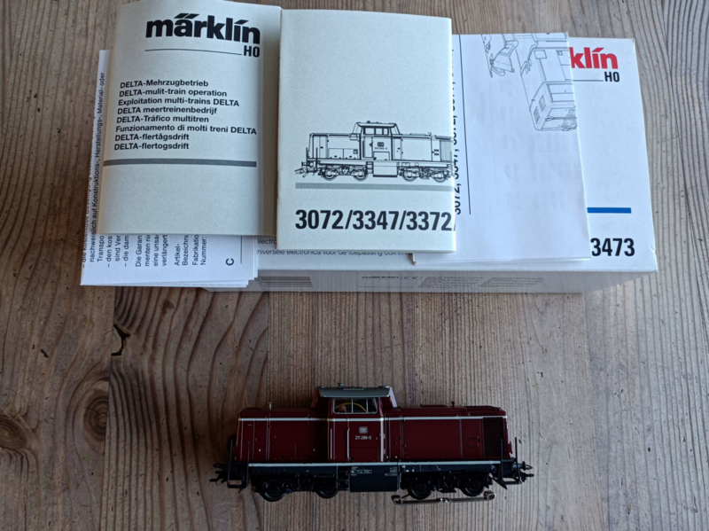 Marklin 3473  BR211 Delta/Digitaal NIEUW