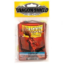 Dragon Shield mini 50 card sleeves (coper)