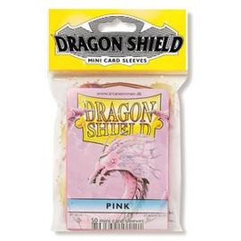 Dragon Shield mini 50 card sleeves (pink)