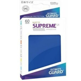 Supreme UX Matte Sleeves Japanese Size (blue)