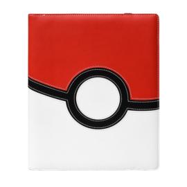Ultra Pro - 9 Pocket Premium Pro Binder - Pokemon Poke Ball