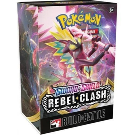Pokemon Sword & Shield Rebel Clash Pre-Release Entree (24, 25 en 26 april 2020)