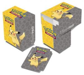 Pokémon Pikachu Full-View Deck Box
