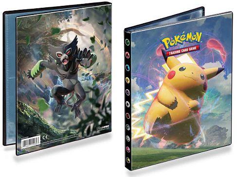 Ultra Pro - 4 Pocket Portfolio - Pokemon Sword & Shield 4 Vivid Voltage