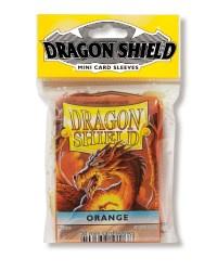 Dragon Shield mini 50 card sleeves (orange)