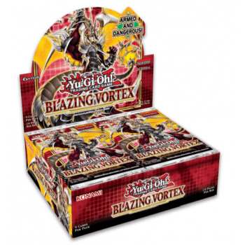 Yu-Gi-Oh! Booster Box: Blazing Vortex