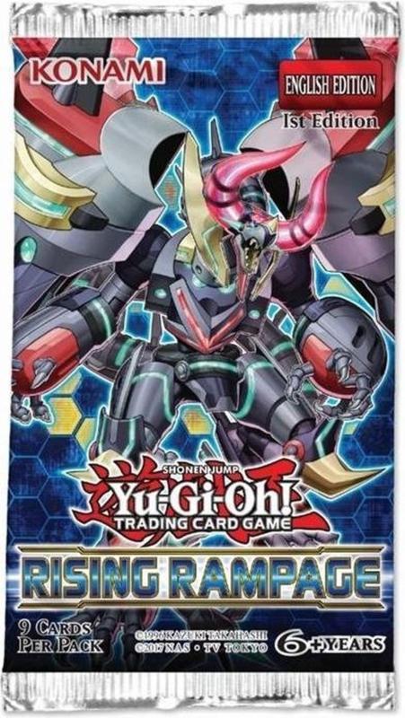 Yu-Gi-Oh! Booster Pack: Rising Rampage