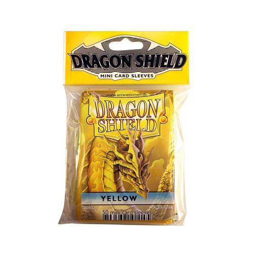 Dragon Shield mini 50 card sleeves (yellow)