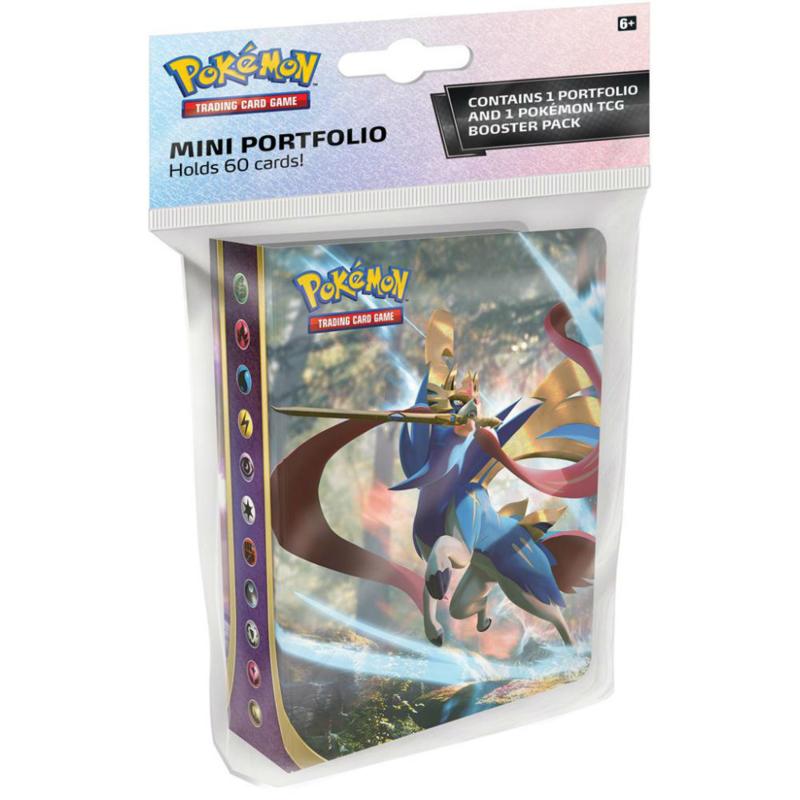 Pokémon Sword & Shield Booster Pack & Mini Portfolio
