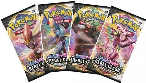 Pokemon - Sword & Shield Rebel Clash - Booster Pack