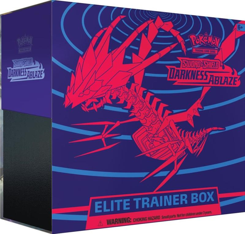 Pokemon: Sword & Shield Darkness Ablaze - Elite Trainer Box