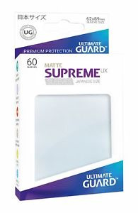 Supreme UX Matte Sleeves Japanese Size (frosted)