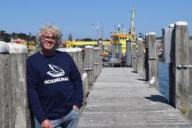 Unisex sweater 'Mosselman' - maat M