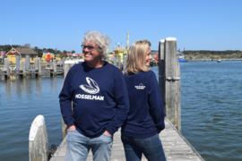 Unisex sweater 'Mosselman' - maat XXL