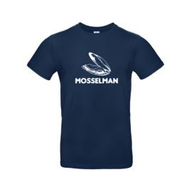 Heren shirt 'Mosselman' - maat S