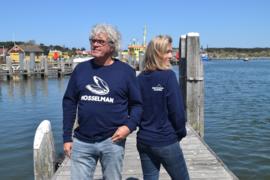 Unisex sweater 'Mosselman' - maat XL