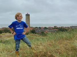 Kids t-shirt 'Zeebaars' - maat 98/104