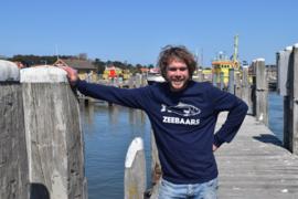 Unisex sweaters 'Zeebaars' - maat XXL
