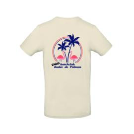 Heren shirt 'WannaBeachclub Onder de Palmen' - maat S