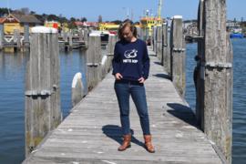 Unisex sweater 'Hete Kip' - maat XXL