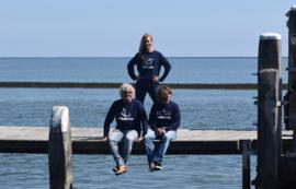 Unisex sweater 'Zeebaars' - maat M