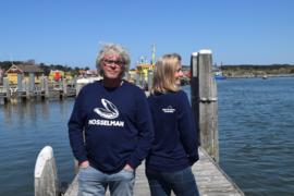Unisex sweater 'Mosselman' - maat L