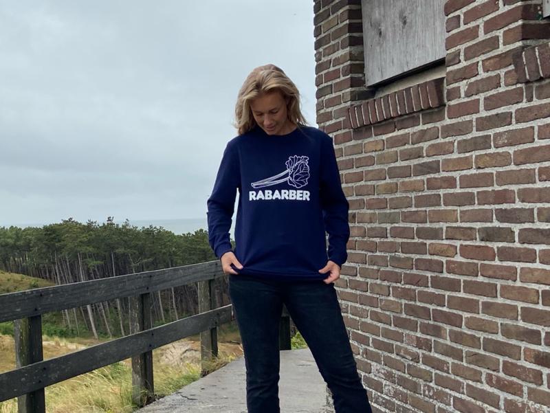 Unisex sweater 'Rabarber' - maat XXL