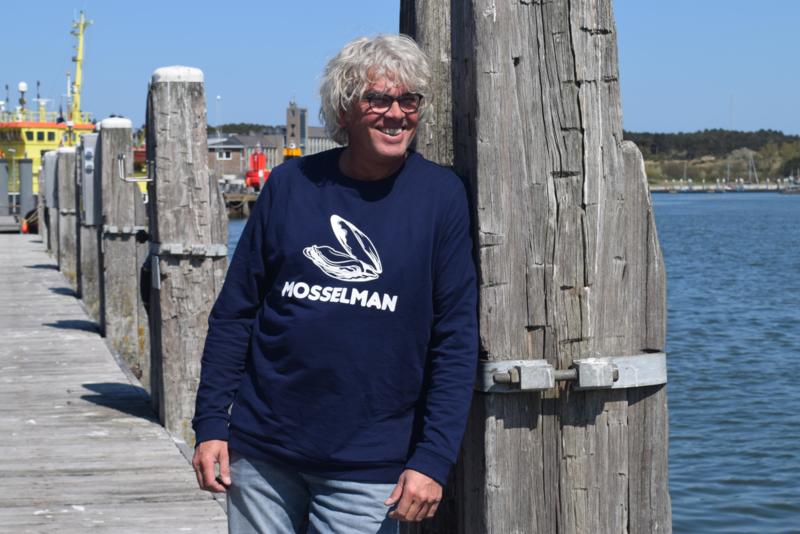 Unisex sweater 'Mosselman' - maat S
