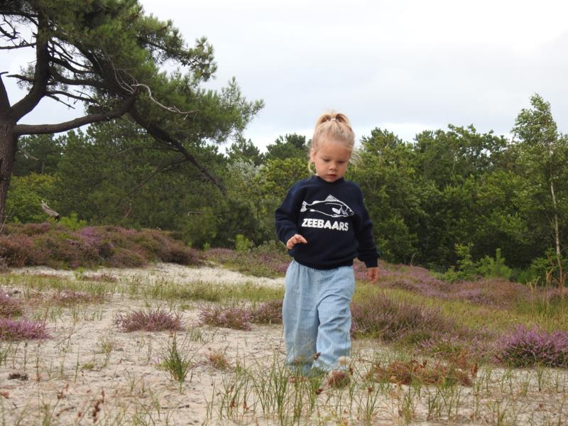 Kids sweater 'Zeebaars' - maat 98/104