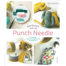 Borduren met de punch needle