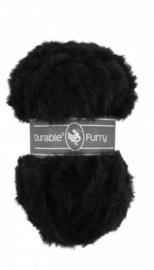Furry 325 Zwart