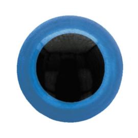 Dieren oog 2 kleurig Blauw