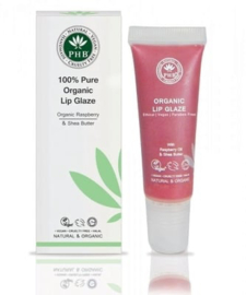 100% Pure Organic Lip Glaze: Raspberry