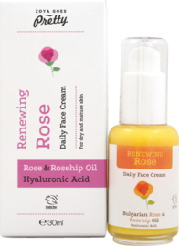 Renewing Rose daily face cream - 30 ml