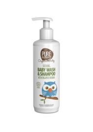 Soothing Baby Wash & Shampoo with organic baobab 250