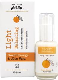 Light Balancing daily face cream - 30 ml