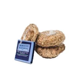 Moroccan Natural Sago Palm Leaf Soft Exfoliator