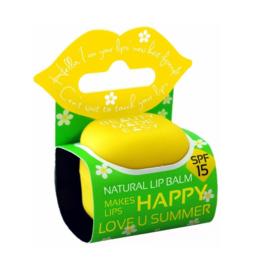 Beauty Made Easy Lipbalm love u sunny spf15 7 gram