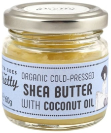 Shea & coconut butter - cold-pressed & organic - 60g