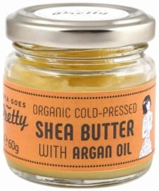 Shea & argan butter - cold-pressed & organic - 60g