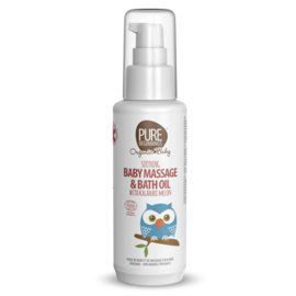 Soothing Baby Massage and Bath Oil with Kalahari Melon