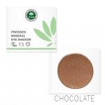 Pressed Mineral Eyeshadow: Chocolate