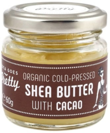 Shea & cacao butter - cold pressed & organic - 60g